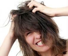 dolor en el cuero cabelludo arriba